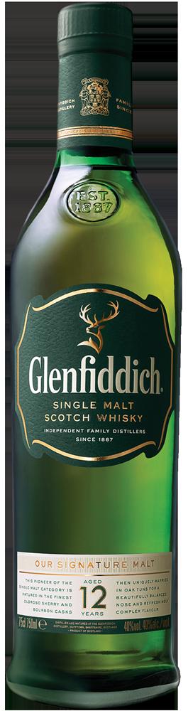 Glenfiddich 12 Years Single Malt – Shot 1,5 Ounces