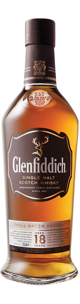 Glenfiddich 18 Años Single Malt – Trago 1,5 Onzas