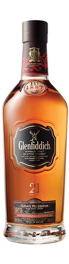 Glenfiddich 21 Años Single Malt – Trago 1,5 Onzas