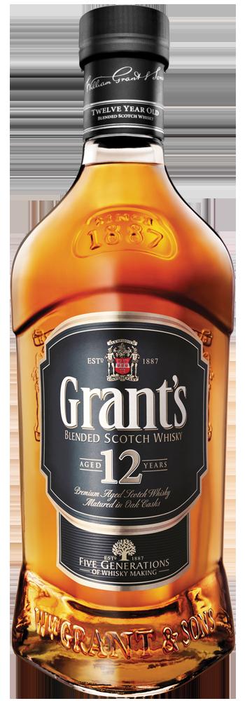 Grant's 12 Años – Trago 1,5 Onzas