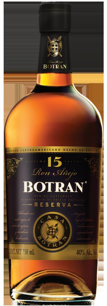 Ron Botran Reserva 15 Años – Trago 1,5 Onzas
