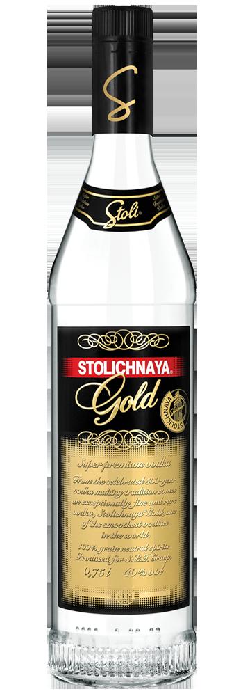 Stolichnaya Gold – Trago 1,5 Onzas
